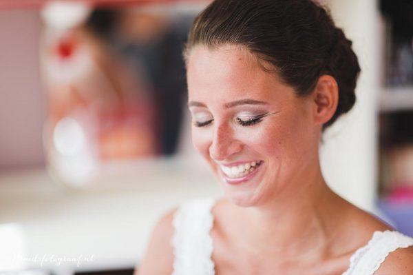 prachtige bruids makeup